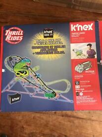 K'nex twisted lizard rollercoaster