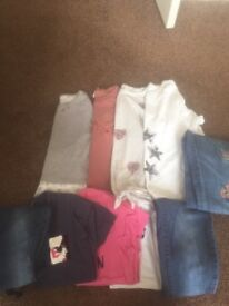 Girls age 9 clothes bundle. 10 items. Mostly next.