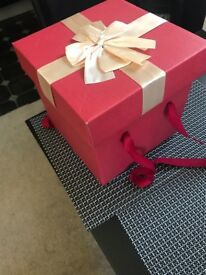 Brand New Valentine Gift Box with Handle