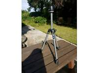 Manfrotto 190 Aluminium 3 Section Tripod with Universal Ball Head