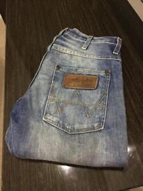 Wrangler Spencer Worn Look Jeans W29 L32