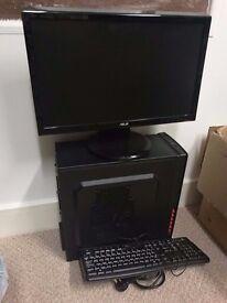 "Desktop Computer - Windows, 16GB Ram, 1TB HD, Office, 22"" ASUS Monitor"