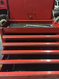 Snap on top chest 5 drawer