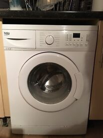 18 month old BEKO washing machine for sale no previous problems clean and in good working order.