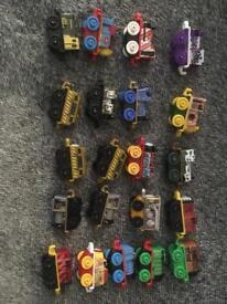 Thomas mini trains there are 20 three are duplicates see pic