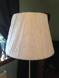 Large white light shade