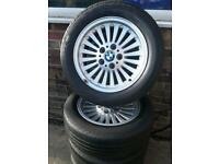 5x bmw alloys wheels