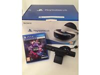 Playstation VR - Like Brand New Condition + Camera + Game