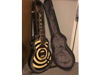 Zakk Wylde Les Paul Custom guitar, case and Amp