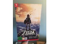 The Legend of Zelda Breath of the Wild Read - LIMITED EDITION - Nintendo Switch