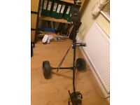 olf Trolley, ideal for Christmas, Tour Select 835, light weight, Very good condition.
