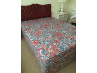"""6'3"""" double mattress; was a spare bed so little use, sale due to downsizing"""