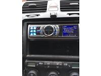 Alpine iDA-X001 car stereo head unit iPhone/iPod compatible