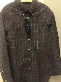 Ralph Lauren shirt kids age 8 years!! ***