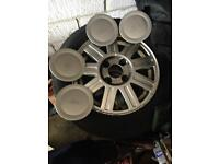 Ford Fiesta alloys (with tyres)