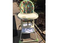 Baby weavers high chair