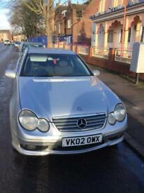 Bargain Mercedes 2002 2.2lt