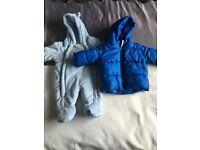 Baby boy snowsuits