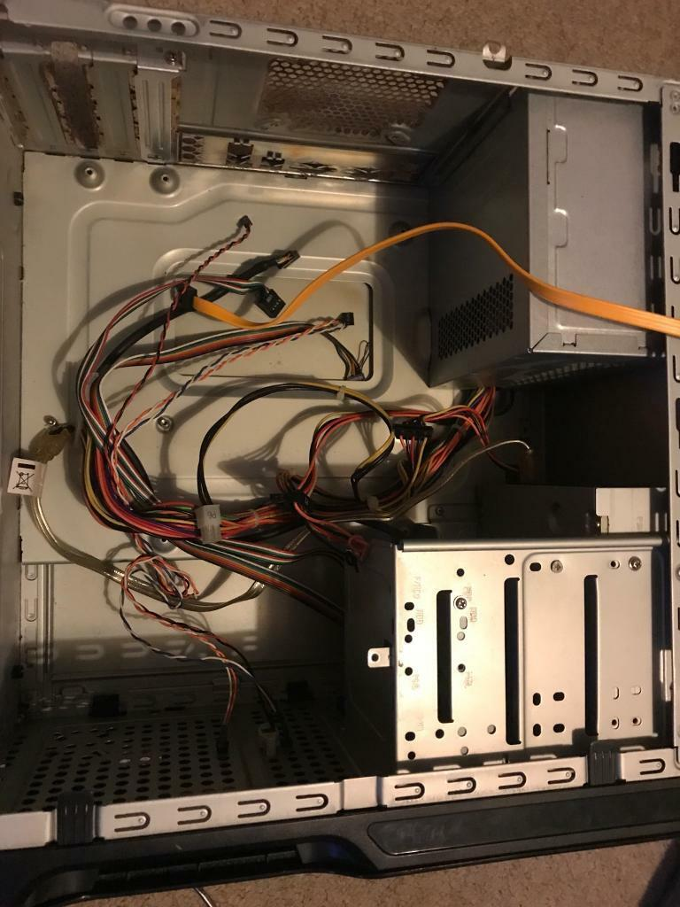 Pc case with 300watt power supply and optical drive