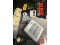 Super nintendo mario pack boxed