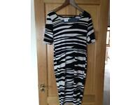 ASOS Maternity fitted dress, size 12.