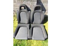 2009 Volkswagen scirocco rear seats