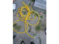Small yellow hose