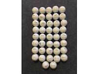 Titleist dt used golf balls