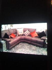Corner suite recliner each end