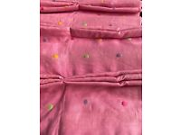 """Stunning Designers Guild curtains for window 95"""" wide x 100"""" drop - £1800 when new"""