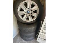 BMW winter tyres wheel set
