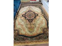 Traditional Iranian rug