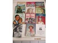 Various books about Royal family