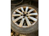 Audi A4 alloy wheels and tyres 17""