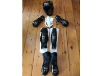 **** Macho Warrior full combat / boxing gear - Black - LIKE NEW ***