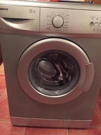 Beko silver washing machine free
