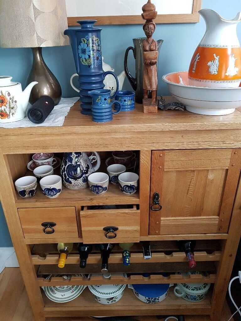 Solid Wood Wine Rack Dresser In Old Trafford Manchester Gumtree