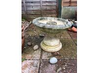Stone/ cement fountain