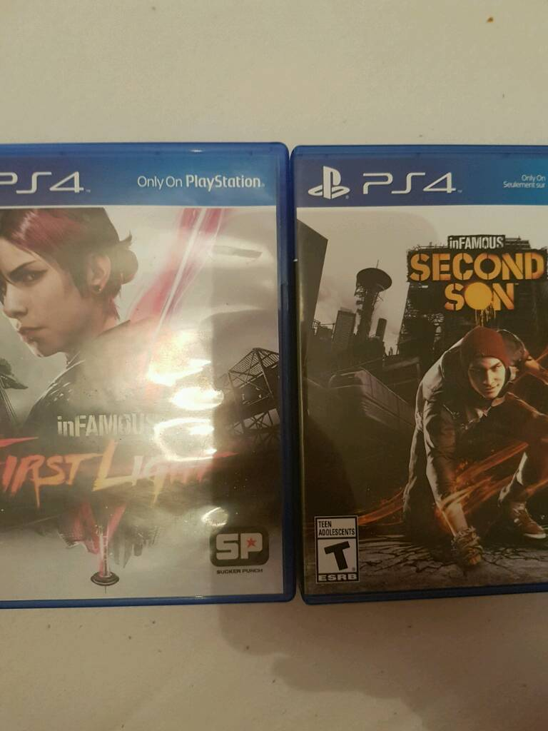 InFamous First Light & InFamous Second Son PS4