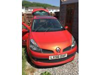 Renault Clio. 1.2 Sunroof 2 Sensor Keys Push Start £600 O.V.N.O