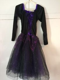Large Child Halloween witch dress