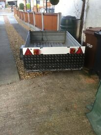 Metal Box Trailer