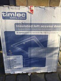 Boxed Loft Door