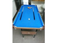 "4'6"" Childrens Pool Table"