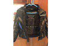 Buffalo kids motorcycle jacket
