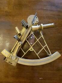 sextant compass brass