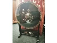 BEAUTIFUL FOLDABLE CHINESE OCCASIONAL TABLE