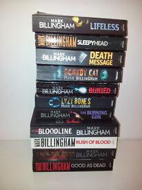Eleven Mark Billingham Books