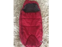 Mamas and Papas cold weather footmuff for pushchair.