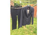 Ladies next trouser suit